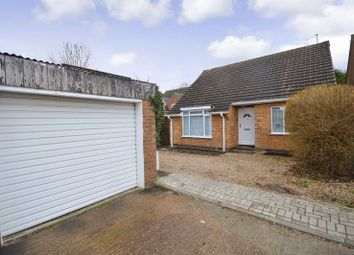 Thumbnail 2 bed bungalow for sale in Oakside Close, Evington, Leicester