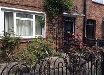 Thumbnail 3 bed cottage to rent in Lindley Street, London