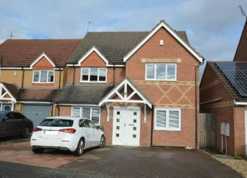 Thumbnail 6 bed detached house for sale in Vyner Close, Thorpe Astley, Leicester