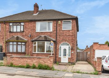 Thumbnail 3 bedroom semi-detached house for sale in Lamborne Road, Leicester