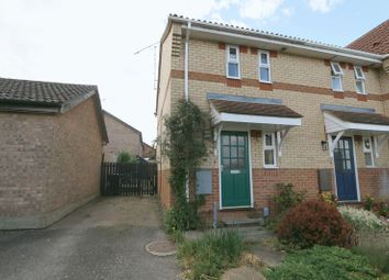 Thumbnail 1 bed terraced house for sale in Spencer Croft, Ely