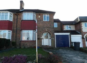 Thumbnail 4 bed semi-detached house for sale in Queenhill Road, Selsdon, Surrey