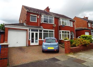 Thumbnail 3 bed semi-detached house for sale in Portland Road, Worsley, Manchester, Greater Manchester