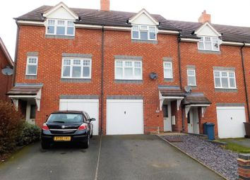 Thumbnail 3 bed town house for sale in Bluebell Hollow, Walton On The Hill, Stafford.