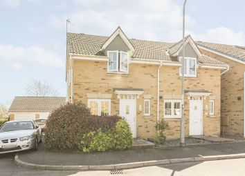 Thumbnail 2 bed semi-detached house for sale in Schooner Circle, St. Brides Wentlooge, Newport