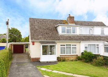Thumbnail 3 bed semi-detached bungalow for sale in Chalk Pit Lane, Wool BH20.