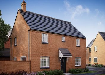 "Thumbnail 4 bedroom detached house for sale in ""The Helpston (Side)"" at Former Sawmills, Northampton Road, Brackley"