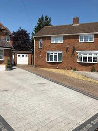 Thumbnail 3 bed semi-detached house to rent in Newnham Close, Luton