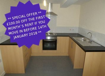 Thumbnail 1 bed flat to rent in Flat 2, 9-11 Bowers Fold