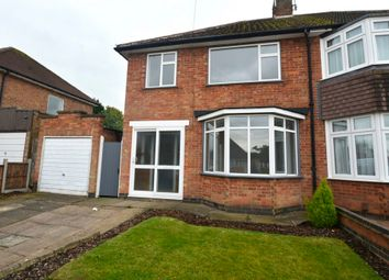 Thumbnail 3 bed semi-detached house to rent in 31 Chatteris Avenue, Leicester