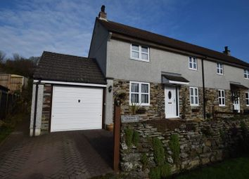 Thumbnail 2 bed semi-detached house for sale in Bathpool, Launceston
