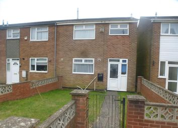 Thumbnail 3 bed semi-detached house to rent in Barton Court, Mansfield