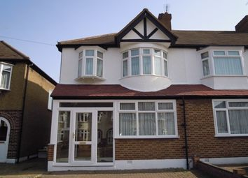 Thumbnail 3 bed end terrace house to rent in Camborne Road, Morden