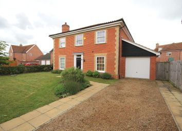 Thumbnail 4 bedroom detached house to rent in Sowdlefield Walk, Mulbarton, Norwich