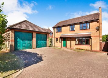 Thumbnail 4 bed detached house for sale in Norwich Road, Attleborough