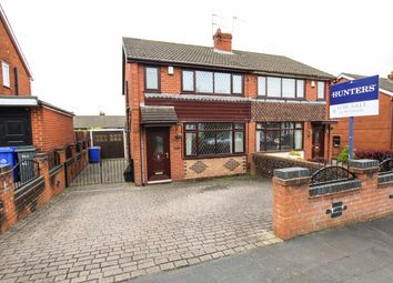 Thumbnail 3 bed semi-detached house for sale in Southborough Crescent, Stoke-On-Trent