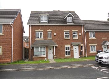 Thumbnail 4 bedroom end terrace house to rent in Clough Close, Middlesbrough