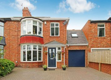 Thumbnail 4 bed semi-detached house for sale in Houxty Road, South Wellfield, Whitley Bay