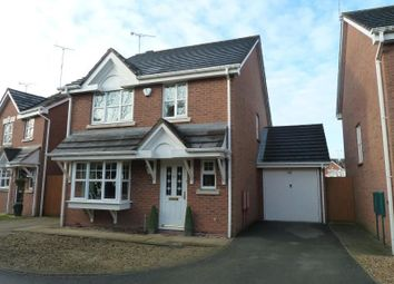 Thumbnail 4 bed detached house for sale in Rectory Drive, Exhall, Coventry