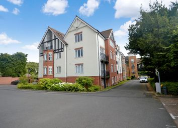 Thumbnail 2 bed flat for sale in Hermitage Court, Oadby, Leicester