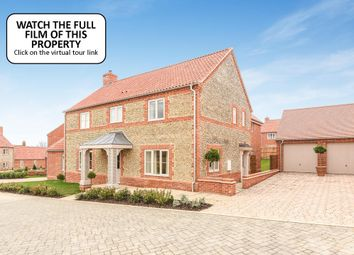 Thumbnail 4 bedroom link-detached house for sale in Polstede Place, North Street, Burnham Market, King's Lynn