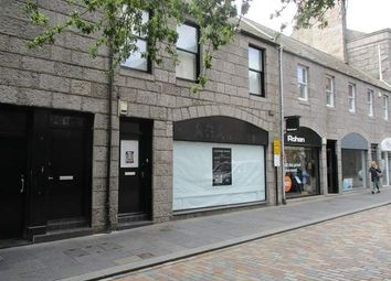 Thumbnail Retail premises to let in Back Wynd, Aberdeen