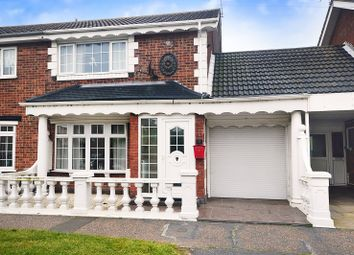 Thumbnail 2 bed semi-detached house for sale in Manor Road, Caister-On-Sea, Great Yarmouth