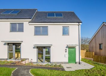 Thumbnail 2 bed semi-detached house for sale in 11 Stafford Close, Layne Fields, Christow, Exeter, Devon
