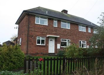 Thumbnail 3 bedroom semi-detached house to rent in Harris Lane, Wistow, Huntingdon