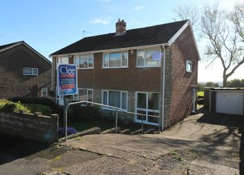 Thumbnail 3 bed semi-detached house for sale in Llwyn-Yr-Eos, Morriston, Swansea, City And County Of Swansea.