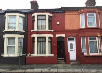 Thumbnail 3 bed terraced house for sale in Canon Road, Anfield, Liverpool