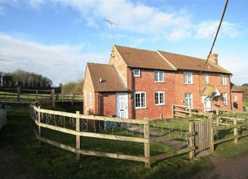 Thumbnail 2 bed semi-detached house to rent in Fidlers Lane, East Ilsley, Newbury
