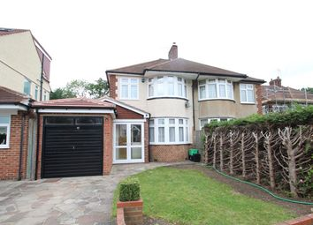 Thumbnail 3 bed semi-detached house to rent in Merton Gardens, Petts Wood, Orpington