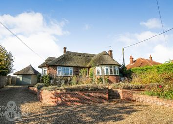 Thumbnail 3 bed detached bungalow for sale in Brundall Road, Blofield, Norwich
