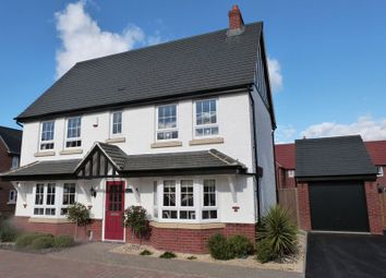 Thumbnail 4 bed detached house to rent in Pentland Road, Ashby-De-La-Zouch