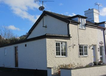 Thumbnail 2 bed end terrace house for sale in Bryncrug, Bryncrug Gwynedd