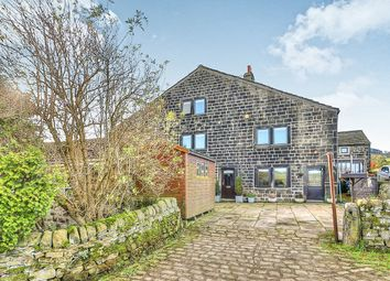Thumbnail 4 bed semi-detached house for sale in Brearley, Luddendenfoot, Halifax