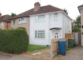 Thumbnail 2 bed semi-detached house to rent in Hampden Road, Harrow