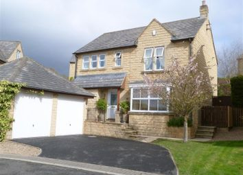Thumbnail 4 bed detached house for sale in Paslew Court, East Morton, Keighley
