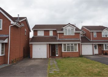Thumbnail 4 bed detached house for sale in Eden Close, Shrewsbury