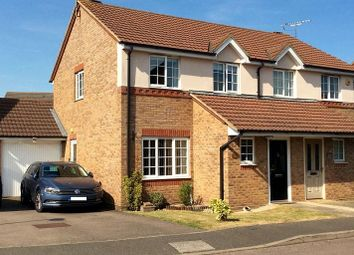 Thumbnail 3 bed semi-detached house to rent in Royce Grove, Leavesden, Watford