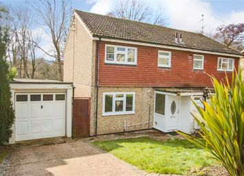Thumbnail 3 bed semi-detached house for sale in Lister Avenue, East Grinstead, West Sussex