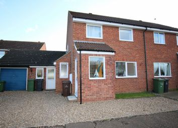 Thumbnail 3 bedroom semi-detached house for sale in Barley Way, Attleborough