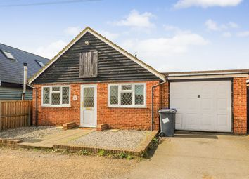 Thumbnail 3 bedroom detached bungalow for sale in Bowyer Road, Seasalter, Whitstable, Kent
