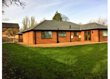 Thumbnail 3 bed detached bungalow for sale in Wrexham Road, Wrexham