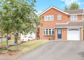 Thumbnail 4 bed detached house for sale in Kingswear Avenue, Perton, Wolverhampton