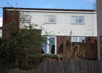 Thumbnail 3 bed semi-detached house for sale in Llys Celyn, Newtown
