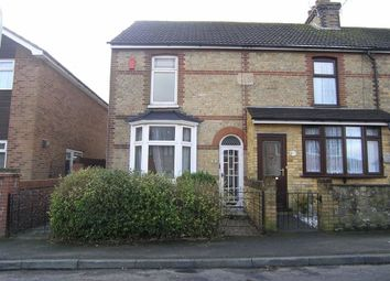 Thumbnail 2 bed end terrace house to rent in Herbert Road, Willesborough Ashford, Kent