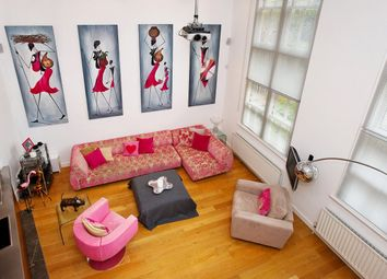 Thumbnail 2 bed flat for sale in Linstead Street, London