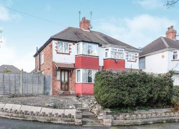 Thumbnail 3 bed semi-detached house for sale in Charlbury Crescent, Birmingham, West Midlands